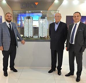 DKY İnşaat, 410 milyon TL'lik 'DKY SAHİL' ve 'DKY CADDE' projelerini Cityscape Turkey'de tanıttı