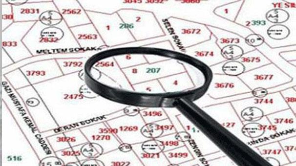 tapu bilgileri ile haritada yer bulmak