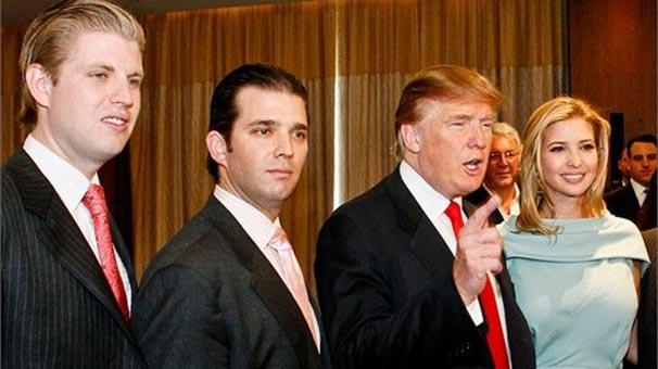 Trump'ın iki yetişkin çocuğu oy kullanamayacak