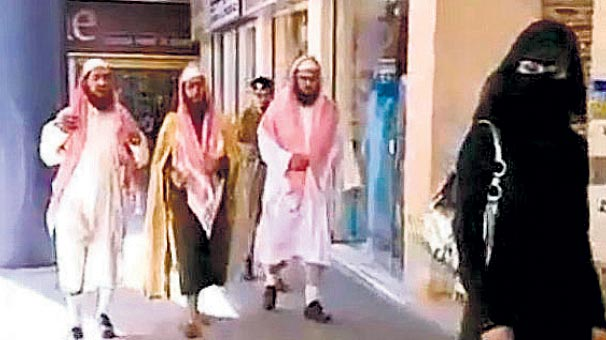 Suudi ahlak  polisine kısıtlama