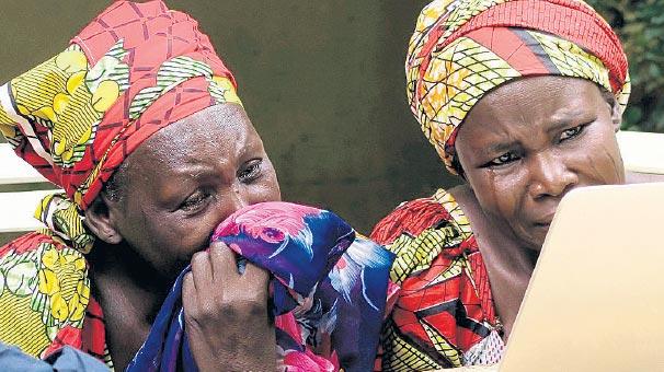 Kaçırılan kızların videosu ağlattı