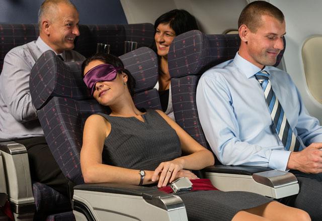 Uçakta konfor sağlayacak öneriler