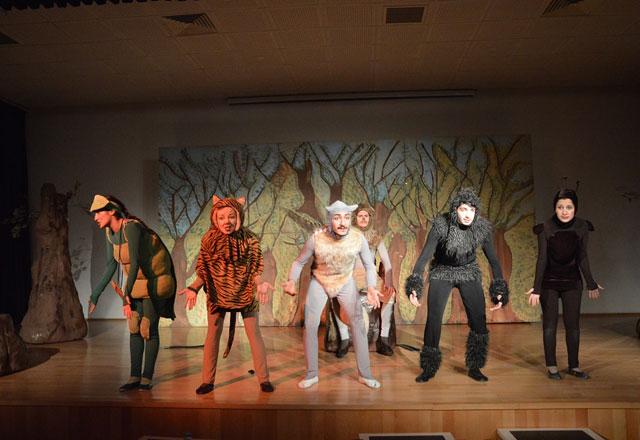 Çocuklar, Çocuk Bayramını, Çocuk Tiyatrosunda Kutlayacak
