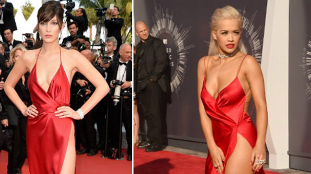 Bella Hadid'in Elbisesi Ortalığı Karıştırdı!