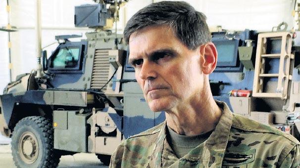 ABD'Lİ GENERAL Kobani'den sonra Ankara'ya geldi