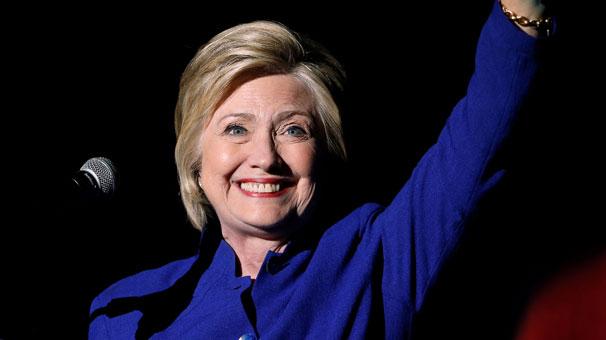 Clinton hem yerini garantiledi hem de tarihe geçti