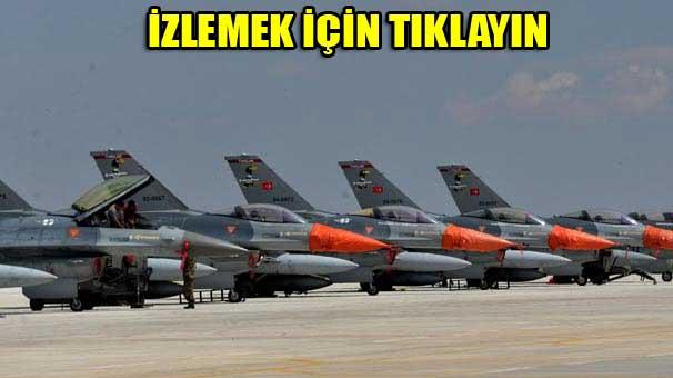 Konya'da 67 uçaklı dev tatbikat!