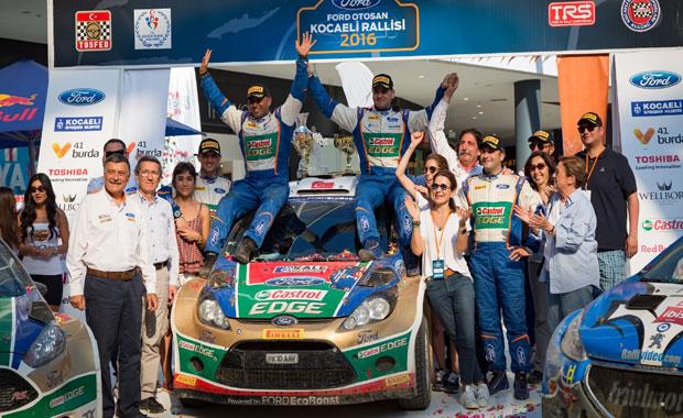Castrol Ford Team Türkiye ye Ödül Yağdı Şampiyon Takım Ödüllerine