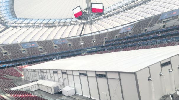 Stadyumda  NATO zirvesi