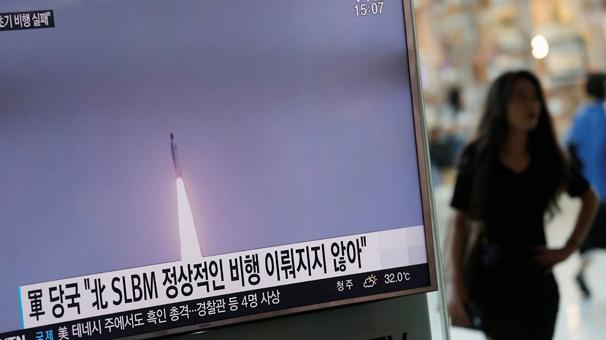 Kuzey Kore denizaltından füze fırlattı