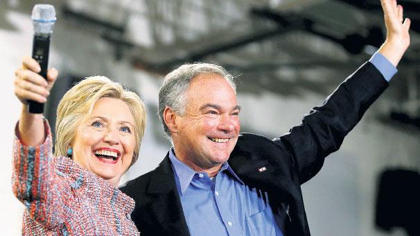 Clinton ın ortağı Sıkıcı Tim