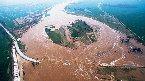 Çin de selin önüne geçilemiyor 112 ölü