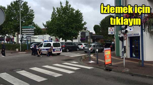 Fransa'da kilisede insanları rehin alan saldırganlar öldürüldü