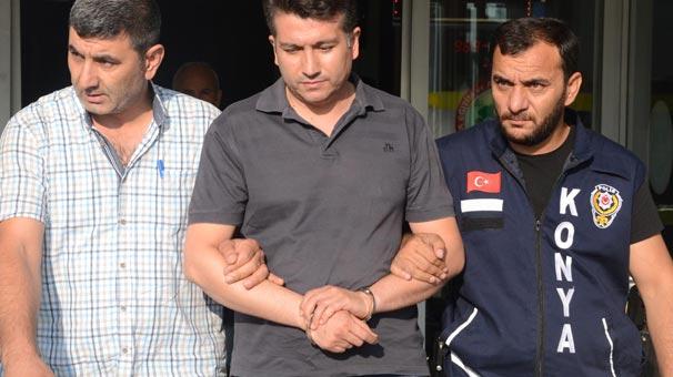 Konya'da polise, FETÖ/PDY operasyonu: 63 gözaltı