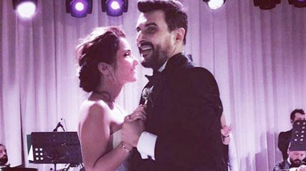 Gökhan Tepe ile Aylin Özer evlendi