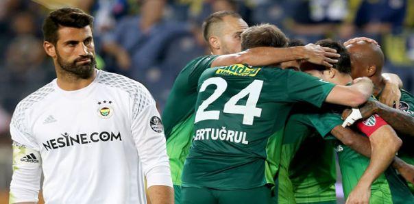 Fenerbahçe 0-1 Bursaspor / Maç Özeti