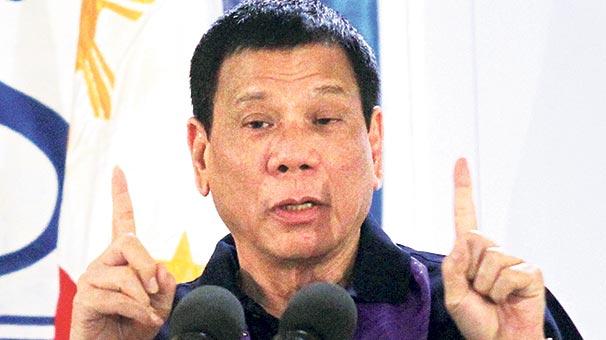 Duterte nin sözlerine uluslararası tepki