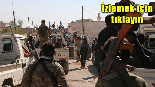 Dabık operasyonu: ÖSO 5 köyü IŞİD'den aldı!