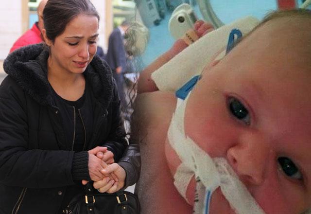 2,5 aylık Emre bebek yanlış kan yüzünden öldü!