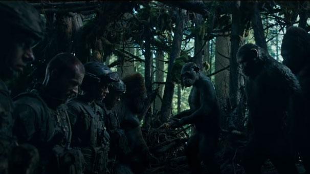 War For The Planet Of The Apes Maymunlar Cehennemi Savaş Tan