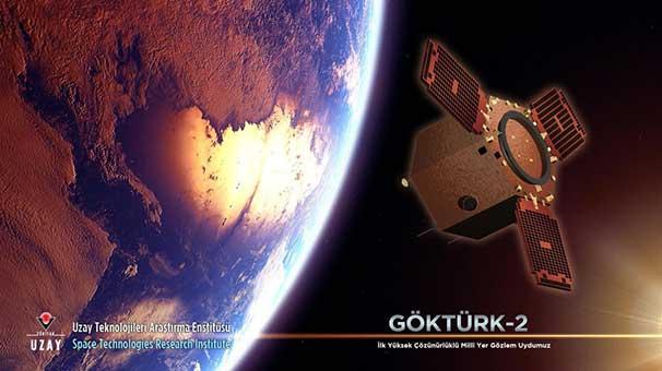GÖKTÜRK-2 dünyayı 21 bin kere turladı