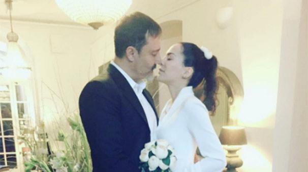 Dilara Gönder evlendi