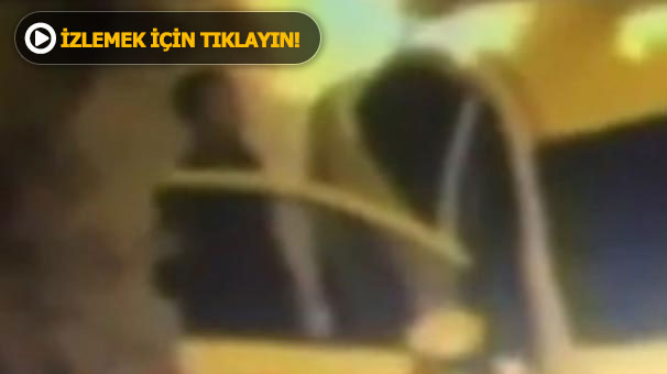 Reina saldırganının taksiyle kaçış görüntüleri