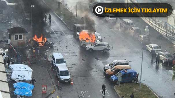 Son dakika... İzmir'deki patlamadan ilk görüntüler