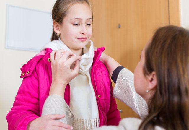 Astımlı çocuk nasıl giydirilmeli?