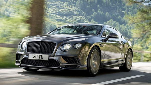 Bentley tarihinin en güçlüsü Continental GT Supersports