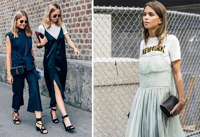 Elbise altı tişört modası