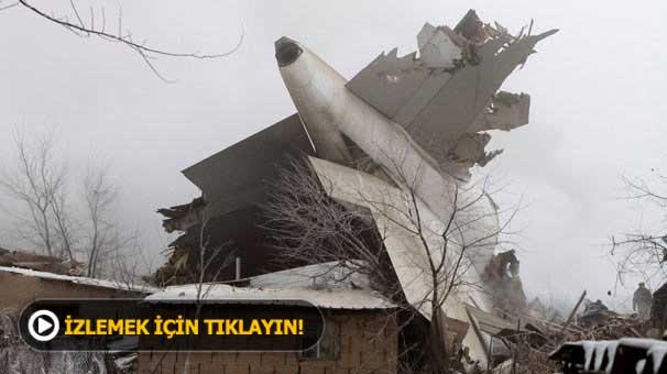 Son dakika: Kırgızistan'da Türk kargo uçağı düştü! Ölü ve yaralılar var...