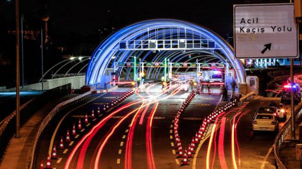 Avrasya'dan geçen araç sayısı 1 milyonu aştı