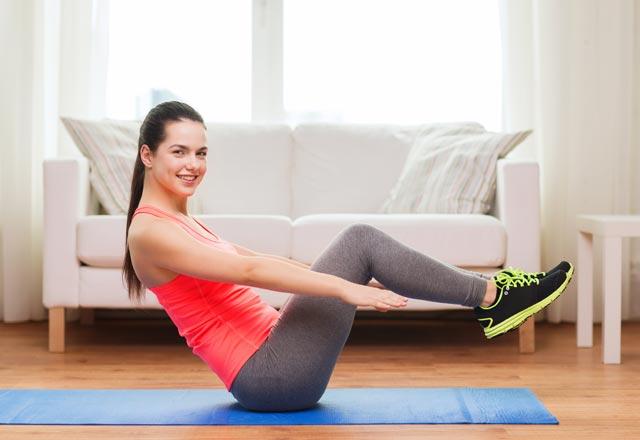 Taraflar için egzersiz: hızlı ve etkili