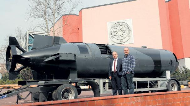 Komandolara mini denizaltı