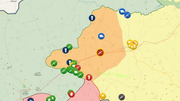 Son dakika... YPG, Menbic'in batısını Esad'a bıraktı