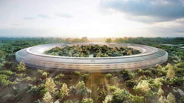 Apple Park'ın tasarımının sırrı ne?