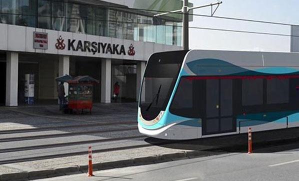 Karşıyaka tramvayı haftaya yola çıkıyor