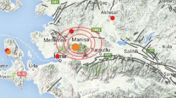 Manisa sallanıyor! 20 günde 102 deprem
