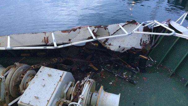 Marmara Denizinde gemi kazası ile ilgili görsel sonucu
