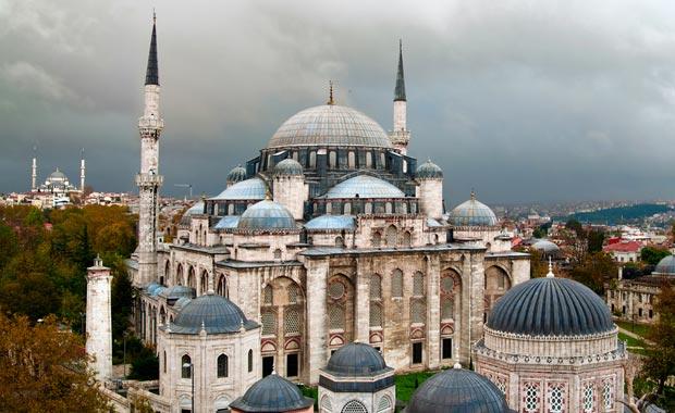 Mimar Sinan'ın çıraklık eseri Şehzade Camii
