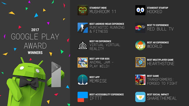 2017'nin en iyi Android uygulamaları açıklandı