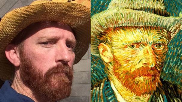 Van Gogh'la selfie teklifi yoğun ilgiyle karşılandı