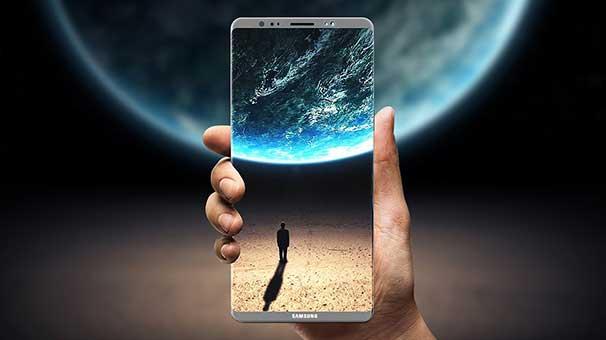 Galaxy Note 8'in çizimleri sızdırıldı