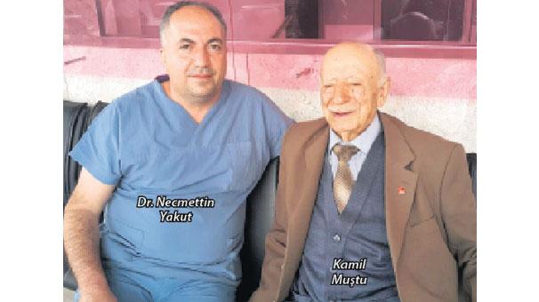 97 yaşında hastaya by-pass