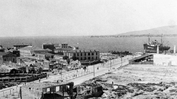 Gazi Osman Paşa Bulvarı'nın 85 yıl önceki görünümü