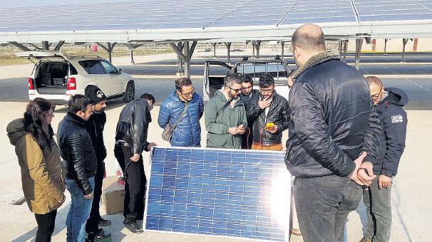 DESEM'de güneş enerjisi eğitimi