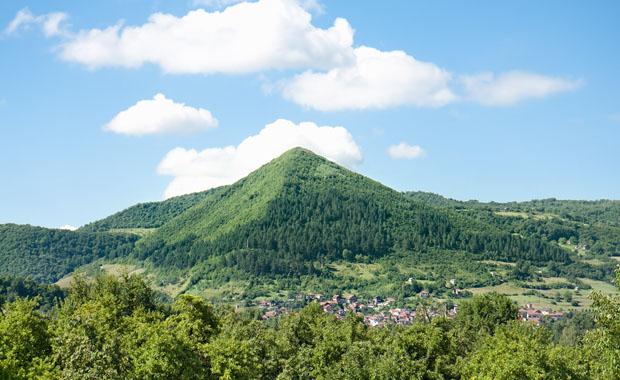 Bosna'da gizemli piramitler gün yüzüne çıktı