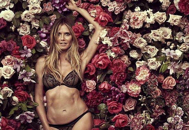 Heidi Klum 44 yaşında büyüledi