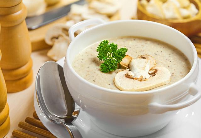 Mantar Çorbası için Reçete